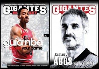 Ya a la venta la nueva Gigantes, con doble portada: Guía NBA y homenaje a Abós