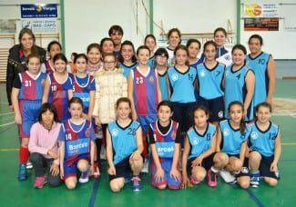 Sa Pobla B.C 19 – Joan Capó Felanitx 31 Mini-femenino preferente grupo B