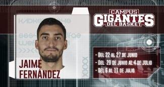 Jaime Fernández, estrella invitada al Campus Gigantes: «Estoy en mi mejor temporada»