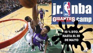 ¡Oferta! Durante la Final Four, un 10% de descuento en la inscripción para el Jr. NBA Gigantes Camp