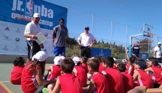 Rudy Gay y Sergio Scariolo, visitas de lujo en el arranque del Jr NBA Gigantes Camp