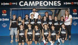 Las Spurs, ¡campeonas de la #JrNBAFEB de Zaragoza! Así fue la victoria de las chicas de Doctor Azúa