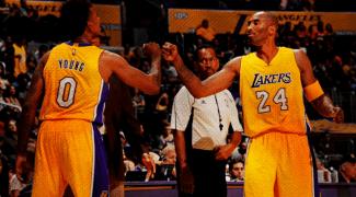 ¿Casualidad? Nick Young no le ha dado ni una asistencia a Kobe en tres temporadas