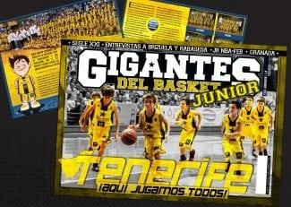La cantera del CB Canarias, en nuestra portada. ¡Aquí jugamos todos!