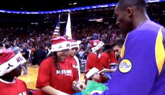 La última Navidad NBA de Kobe: disfruta de sus actuaciones los 25 de diciembre (Vídeo)