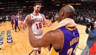 Kobe Bryant: «No reconocía al Pau Gasol de San Antonio»