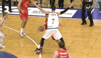 Nachbar, MVP de marzo de la ACB, elogia el truco de Campazzo: «Hacen falta más cómo él»