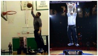 Dos mates con truco: del entrenador de los Celtics y del dueño de los Clippers (Vídeos)