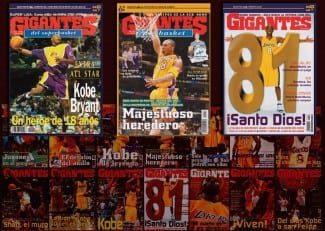Kobe y todas sus portadas en Gigantes