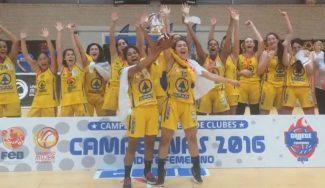 Spar Gran Canaria recupera el trono del Endesa cadete gracias al rebote. Raquel Carrera, MVP