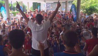 La otra cara del JR NBA Gigantes Camp. Así disfrutan los participantes fuera del entreno (Vídeo)