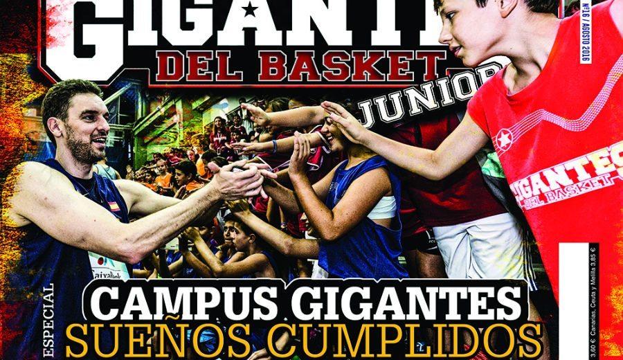 El espectacular nivel de los banquillos del JR NBA Gigantes Camp, en nuestra Gigantes Junior