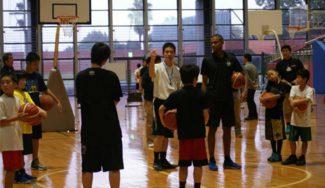 Clinic… ¡en Japón! John Paul Turner, de Tres Cantos, con menores de 18 años