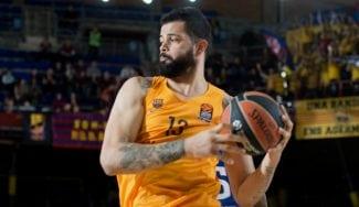 Vitor Faverani reanima al Barça y neutraliza a Brandon Paul: taponazo y mates (Vídeos)
