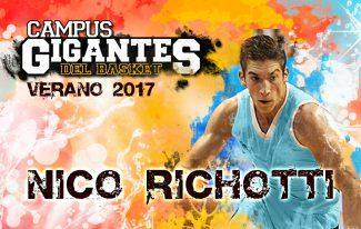 ¡Primer invitado! El escolta argentino Nico Richotti estará en el Campus Gigantes en Madrid