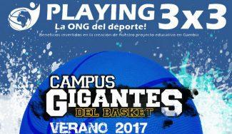 Playing se une al Campus Gigantes: espectaculares 3×3 en los finales de turno de cada sede
