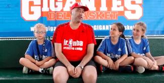 Entrenamientos, Summer League y mucha diversión en el Jr. NBA Gigantes Camp (Vídeo)