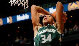 Antetokounmpo sigue a lo suyo: mejor inicio en la historia de la NBA tras 5 duelos (Vídeo)