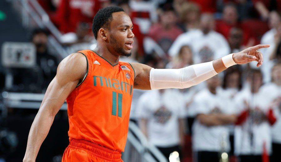 Bruce Brown, la estrella de Miami, contrata un agente y se presenta al Draft NBA