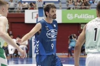 Así ha debutado en ACB Asier de la Iglesia, el jugador con esclerosis múltiple