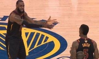 JR Smith: «LeBron James tiene la suerte de jugar conmigo»