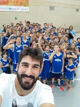 Dani Díez regala un taponazo y una gran mañana a los Campus Gigantes Basket Lover