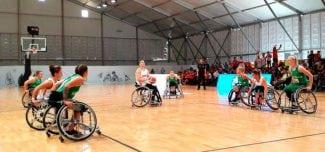 La Selección Femenina de baloncesto en silla de ruedas clasificada por primera vez en la historia para los cuartos de final