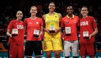 Breanna Stewart, MVP del Mundial; Astou Ndour entre en el Quinteto Ideal