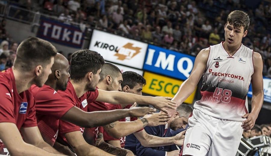 Jaime Pradilla debuta en la Liga Endesa: bate récords y anota la primera