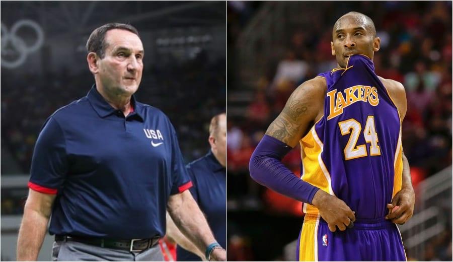 La anécdota de Krzyzewski sobre el deseo de mejorar de Kobe Bryant