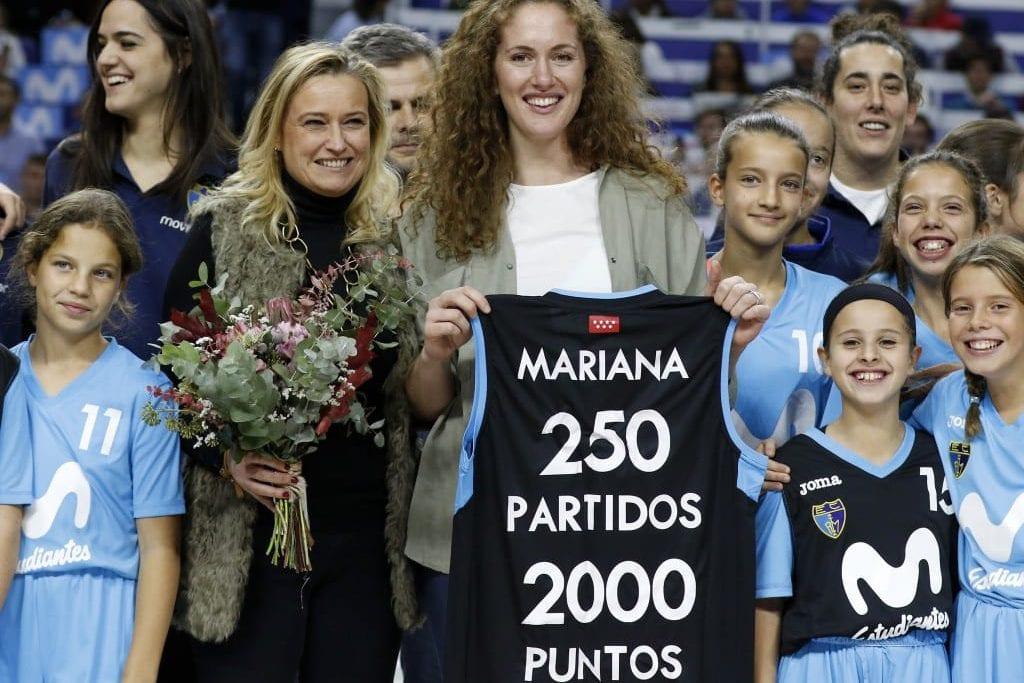 El homenaje del Movistar Estudiantes a una histórica, Mariana González
