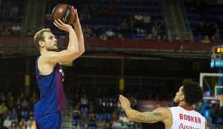 El Barcelona arrasa al Murcia en el último cuarto para ganar por 32 puntos