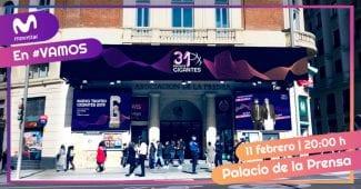El Palacio de la Prensa de Madrid, escenario de los Premios Gigantes