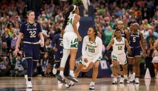 Baylor toma el relevo de Notre Dame como Reina de la WNCAA