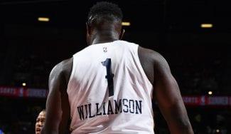 Zion Williamson no se amedrenta ante el gigante Gobert: mates, triples…