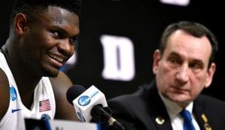 Coach K se pronuncia: «Zion no debería haber jugado la Summer League»