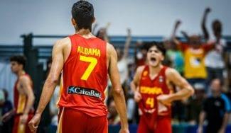 La mejor versión de Aldama y Garuba mete a España en la final