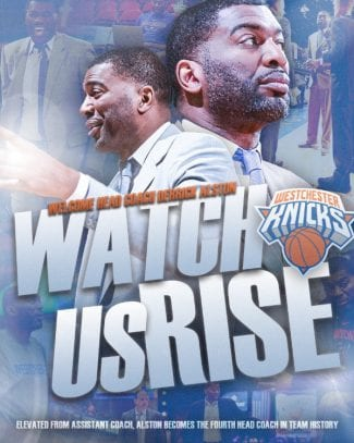 El exACB Derrick Alston dirigirá al equipo asociado a los Knicks en la G-League