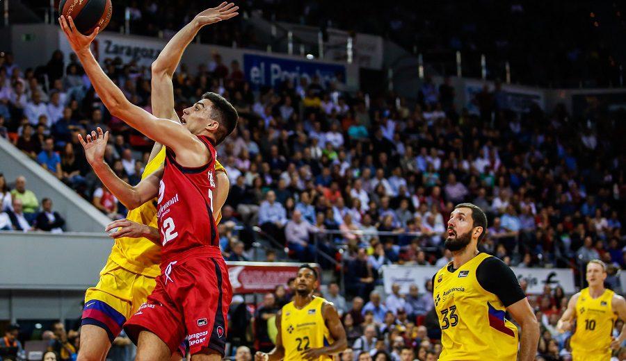 Carlos Alocén brilla ante Mirotic y el Barcelona pierde en Zaragoza