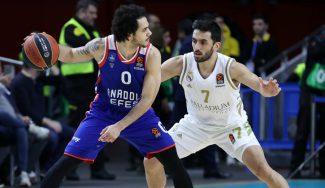 El Anadolu Efes acaba con la imbatibilidad del Real Madrid en casa