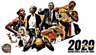 Kobe Bryant lidera la lista de finalistas de 2020 para el Hall of Fame