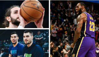 Del triple-doble de LeBron al duelo de los Hernangómez: lo mejor del día en la NBA