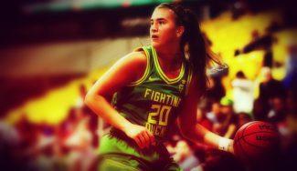 Sabrina Ionescu consigue su triple-doble más especial, en honor a Kobe Bryant