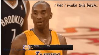 2012 y un histórico 'trashtalking' con mucho dinero de por medio. Kobe fue el protagonista… (Vídeo)