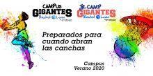 Información del Campus Gigantes Basket Lover y Jr. Camp Gigantes Basket Lover