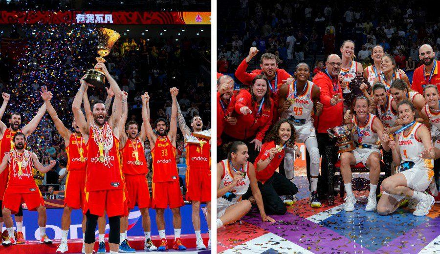 El histórico palmares de la selección española de baloncesto. ¿Podrías quedarte con un solo momento?