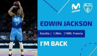 Gran noticia para Movistar Estudiantes: Edwin Jackson seguirá otro año. Así lo explica…