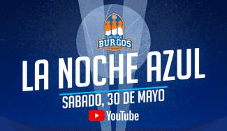 San Pablo Burgos repite su iniciativa La Noche Azul pese al confinamiento