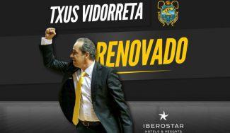 Txus Vidorreta renueva con el Iberostar Tenerife: así lo ha hecho su equipo estos años