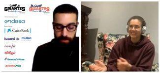 Laura Nicholls se lo pasa en grande con los Campus Gigantes: así fue su intervención virtual (VÍDEO)